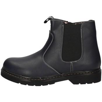 Schuhe Damen Ankle Boots Balducci BS965 Blau
