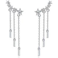 Uhren & Schmuck Damen Ohrringe Blue Pearls CRY C2337 J Multicolor