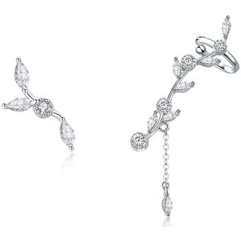 Uhren Damen Ohrringe Blue Pearls CRY C2338 J Multicolor