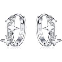 Uhren & Schmuck Damen Ohrringe Blue Pearls CRY C2346 J Multicolor