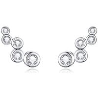 Uhren Damen Ohrringe Blue Pearls CRY C2341 J Multicolor