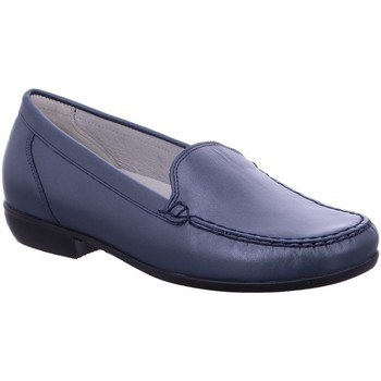 Schuhe Damen Slipper Waldläufer Slipper Hina 437502186/002 blau