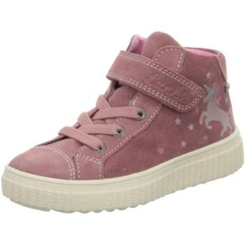 Schuhe Mädchen Sneaker High Lurchi By Salamander High 33-37000-29 rosa