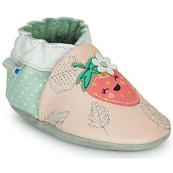 Schuhe Mädchen Hausschuhe Robeez FRUIT'S PARTY Rose / Grün