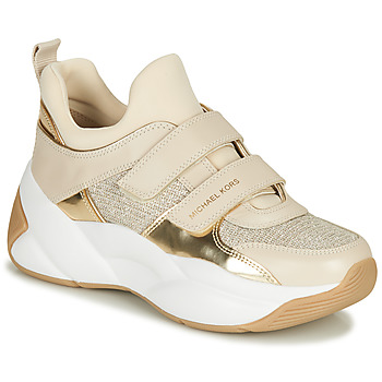 Schuhe Damen Sneaker Low MICHAEL Michael Kors KEELEY Beige / Gold