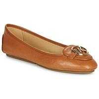 Schuhe Damen Ballerinas MICHAEL Michael Kors LILLIE Cognac