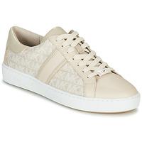 Schuhe Damen Sneaker Low MICHAEL Michael Kors KEATON STRIPE Beige