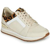 Schuhe Damen Sneaker Low MICHAEL Michael Kors BILLIE Beige / Leopard