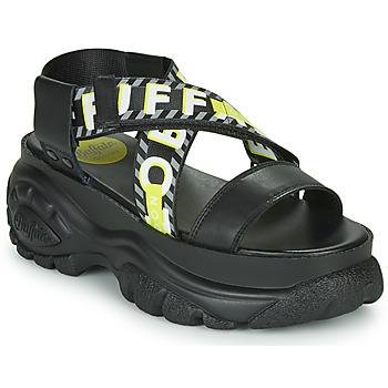 Schuhe Damen Sandalen / Sandaletten Buffalo 1501036 Schwarz