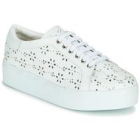 Schuhe Damen Sneaker Low Cristofoli NALA Weiss