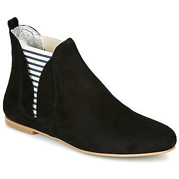 Schuhe Damen Boots Ippon Vintage PATCH FLYBOAT Schwarz