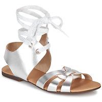 Schuhe Damen Sandalen / Sandaletten Ippon Vintage SAND LINE Silbern