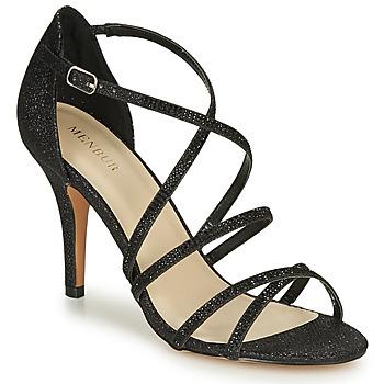 Schuhe Damen Sandalen / Sandaletten Menbur ASTRANTIA Schwarz