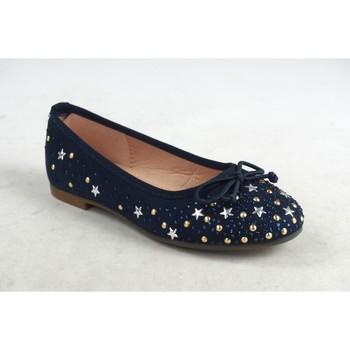Schuhe Mädchen Ballerinas Bubble Bobble Mädchenschuh  a2727 blau Blau