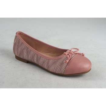 Schuhe Mädchen Ballerinas Bubble Bobble Mädchenschuh  a2717 pink Rose