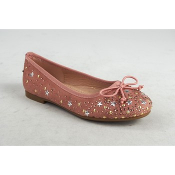 Schuhe Mädchen Ballerinas Bubble Bobble Mädchenschuh  a2727 pink Rose