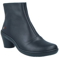 Schuhe Damen Low Boots Art The Art Company Art 1442 Botines Casual con Tacón de Mujer Schwarz