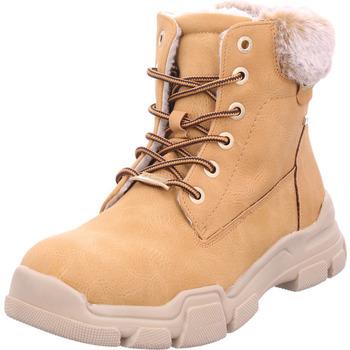 Schuhe Damen Stiefel Pep Step - 7995906 camel