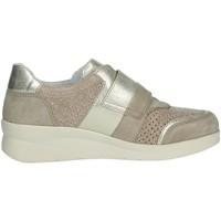 Schuhe Damen Sneaker High Riposella 75372 Beige