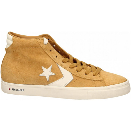 Converse PRO LEATHER VULC MID wheat wheat egret