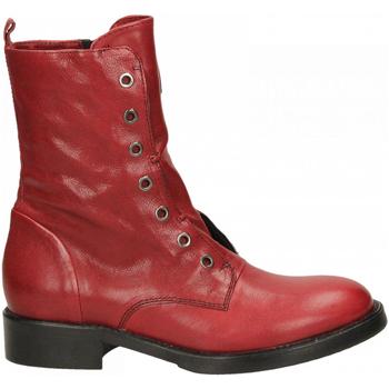 Schuhe Damen Boots Fabbrica Dei Colli 511 WOOD 00006-rosso