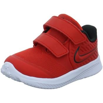 Schuhe Jungen Babyschuhe Nike Low Star Runner 2 (TDV) Sneaker AT1803-600 rot