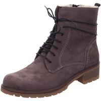 Schuhe Damen Stiefel Longo Stiefeletten 1032131 grau