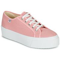 Schuhe Damen Sneaker Low Yurban SUPERTELA Rose