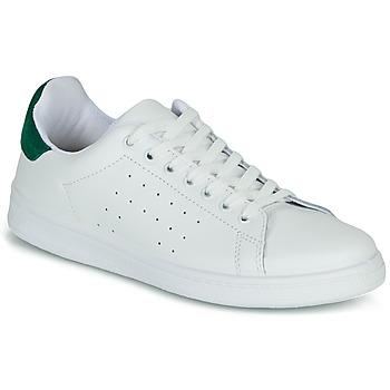 Schuhe Damen Sneaker Low Yurban SATURNA Weiss / Grün