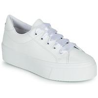 Schuhe Damen Sneaker Low Yurban JUNNY Weiss