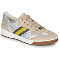 Schuhe Damen Sneaker Low Ara ROM-HIGHSOFT Silbern / Beige / Gelb