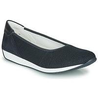 Schuhe Damen Ballerinas Ara PORTO-FUSION Blau