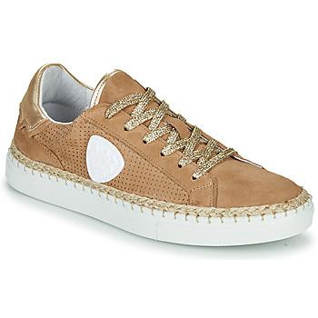 Schuhe Damen Sneaker Low Philippe Morvan GIFT Beige
