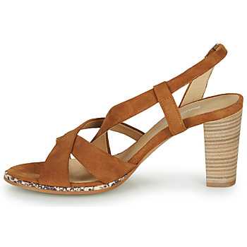 Philippe Morvan JUDE Braun - Kostenloser Versand    - Schuhe Sandalen / Sandaletten Damen 9730