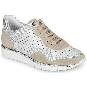 Schuhe Damen Sneaker Low Regard JARD V4 CROSTA P STONE Weiss / Beige