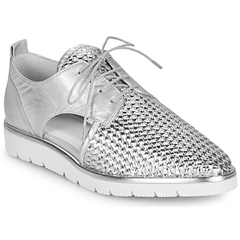 Schuhe Damen Derby-Schuhe Regard LUCEY V2 TRESSE SILVER Silbern