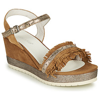 Schuhe Damen Sandalen / Sandaletten Regard DURTAL V2 CROSTA CUOIO Braun