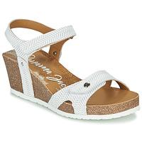 Schuhe Damen Sandalen / Sandaletten Panama Jack JULIA Weiss