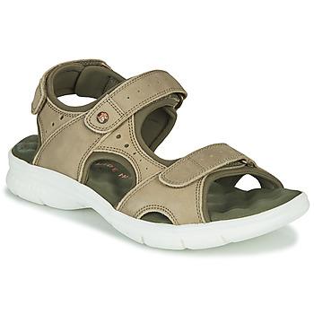 Schuhe Herren Sandalen / Sandaletten Panama Jack SALTON Grün