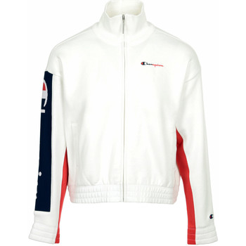 Kleidung Damen Trainingsjacken Champion Full Zip Sweatshirt Wn's Weiss