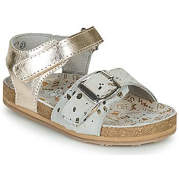 Schuhe Mädchen Sandalen / Sandaletten Mod'8 KORALY Gold