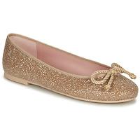 Schuhe Damen Ballerinas Pretty Ballerinas BELLE SAND Gold