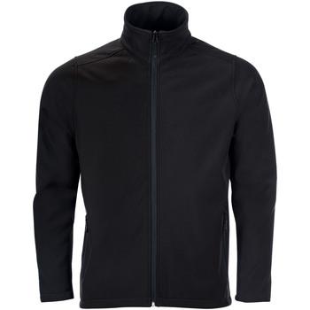 Kleidung Herren Trainingsjacken Sols RACE MEN SOFTSHELL Negro