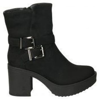 Schuhe Damen Low Boots Stay 238-1850 Noir