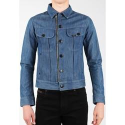 Kleidung Herren Jacken / Blazers Lee Jeansjacke  X Biker Rider L887DNXE blau