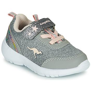 Schuhe Mädchen Sneaker Low Kangaroos KY-Citylite EV Grau / Rose