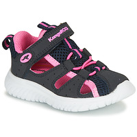 Schuhe Mädchen Sandalen / Sandaletten Kangaroos KI-ROCK LITE EV Blau / Rose