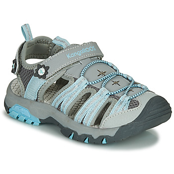 Schuhe Mädchen Sportliche Sandalen Kangaroos KT-SONATA Grau