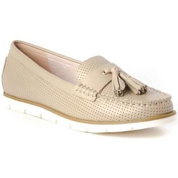 Schuhe Damen Slipper Stephen Allen 17103-70 Beige