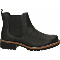 Schuhe Damen Low Boots Ecco Elaine Black Rudo Spider black-nero